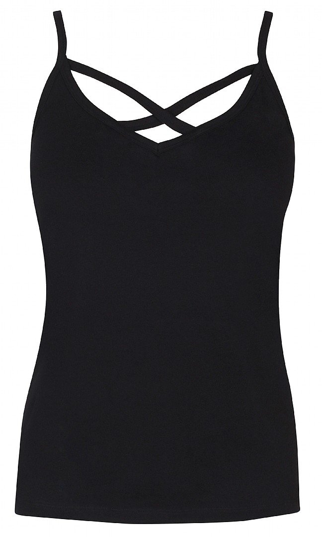svart linne