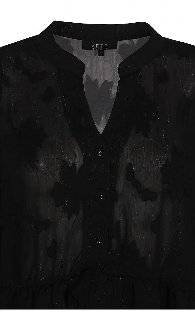 svart topp
