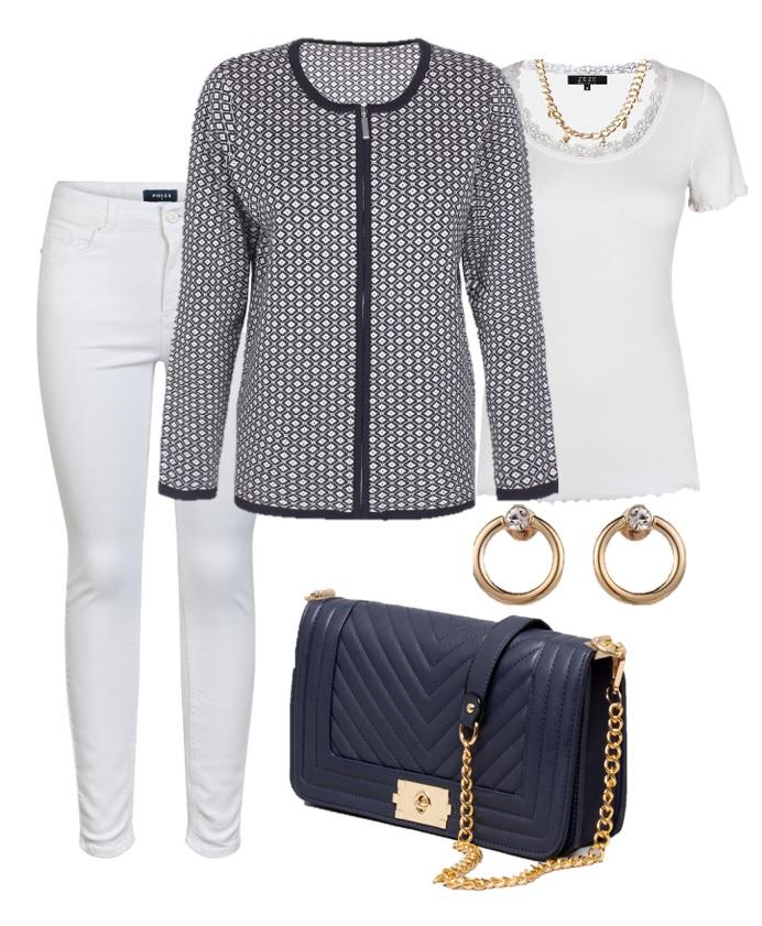outfit blåvit