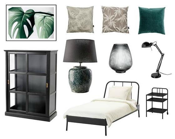 Välj en neutral stil i gästrummet eller så inreder du lite personligare och modigare. Vem vet du kanske flyttar in själv. Bilder och produkter från IKEA, Ilva, Desenio och H&M Home.