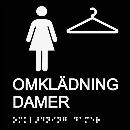Omklädning damer