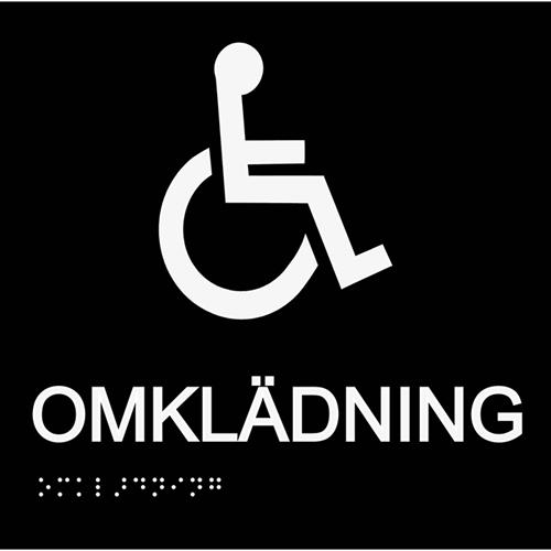 Omklädning rullstol
