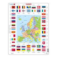 Pussel-Europa-W