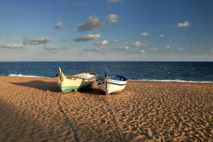 Pinedas berömda två båtar som alltid ligger på plats