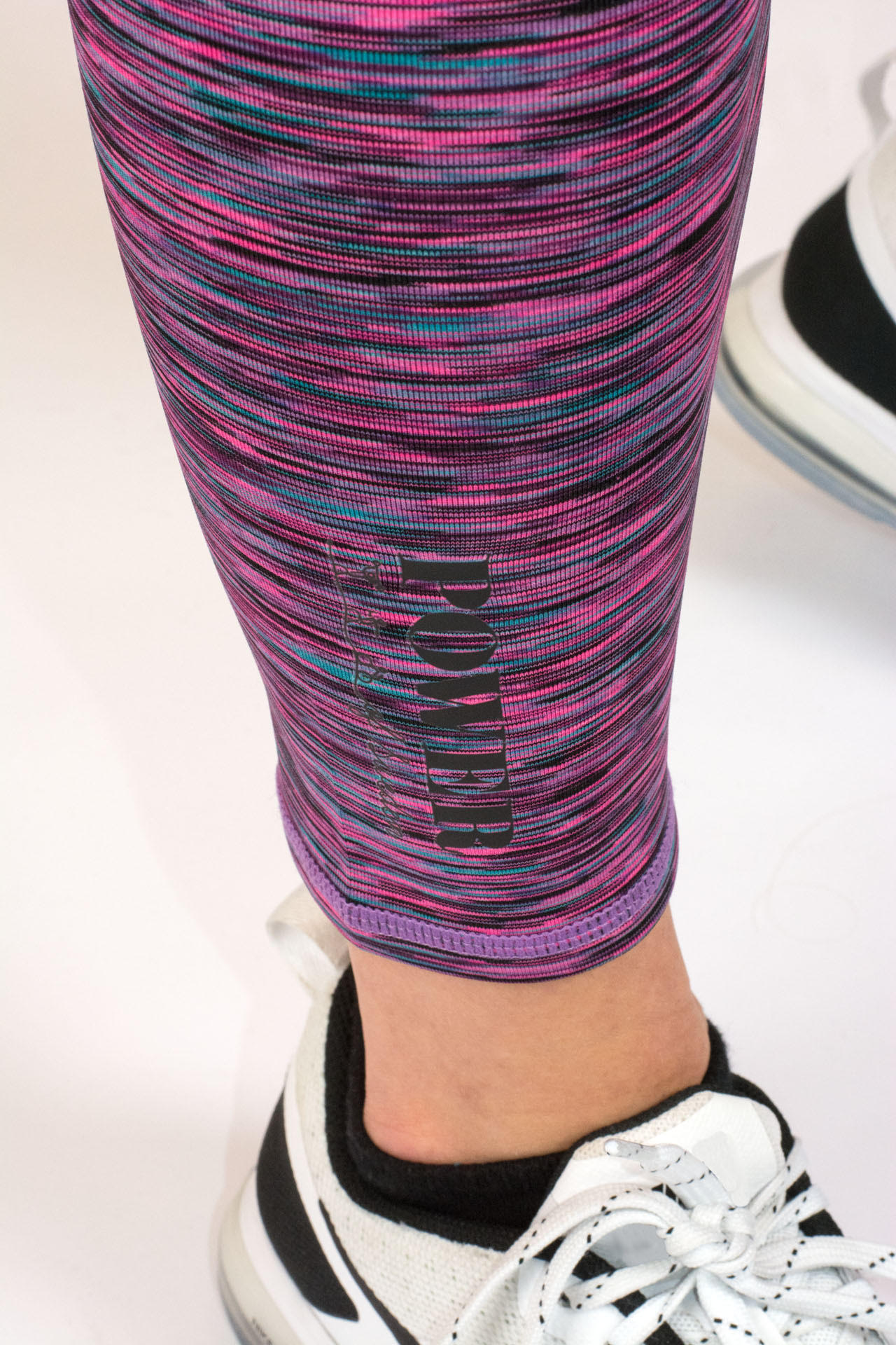 POWER of Sweden Compression Leggings Pink Detaljbild2