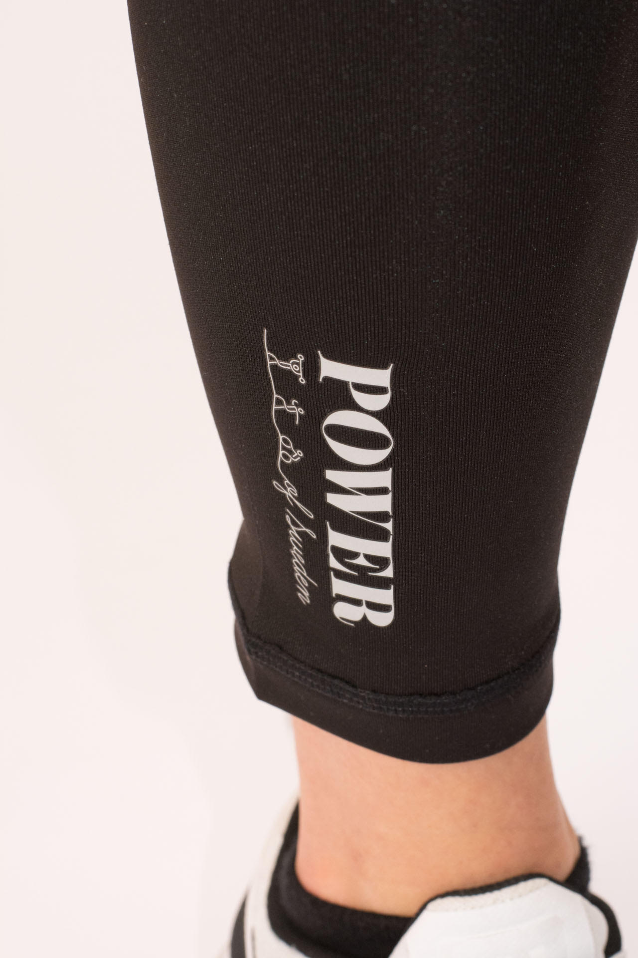 POWER of Sweden Compression Leggings Black Detaljbild2