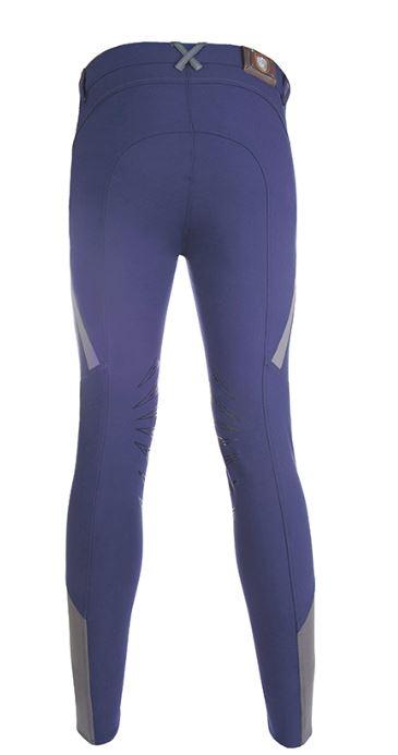 Ridbyxa Herr - Highland - knäskoning silikon marinblå 1