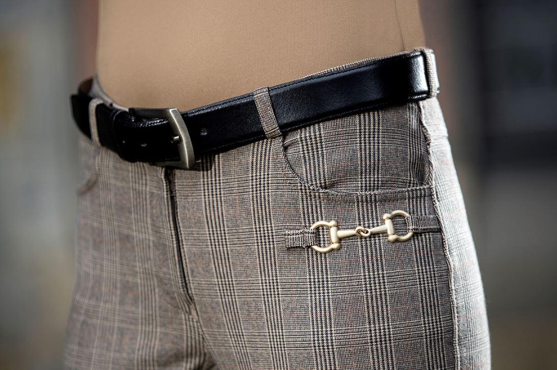 Siena Check- Alos helskodd ficka