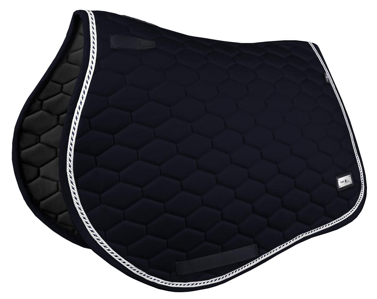 Hexagon Saddle pad VSS svart