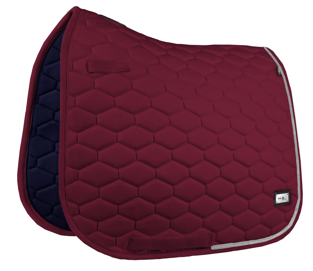 Hexagon Crystal Burgundy DR