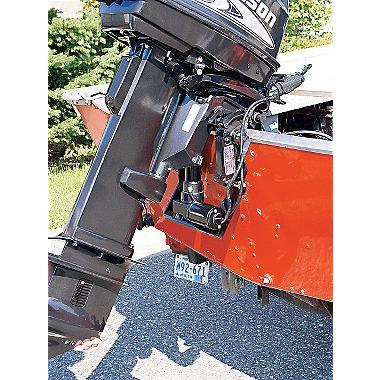 Integrerad trim & tilt - Model 25 - Integrerad trim & tilt - Model 25