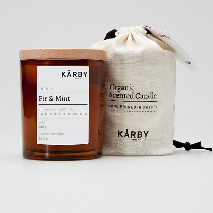 Kårby Organics. Ekologiska doftljus.