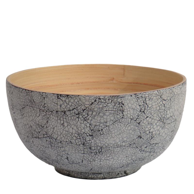 Bibol. Skål bambu stor äggskal