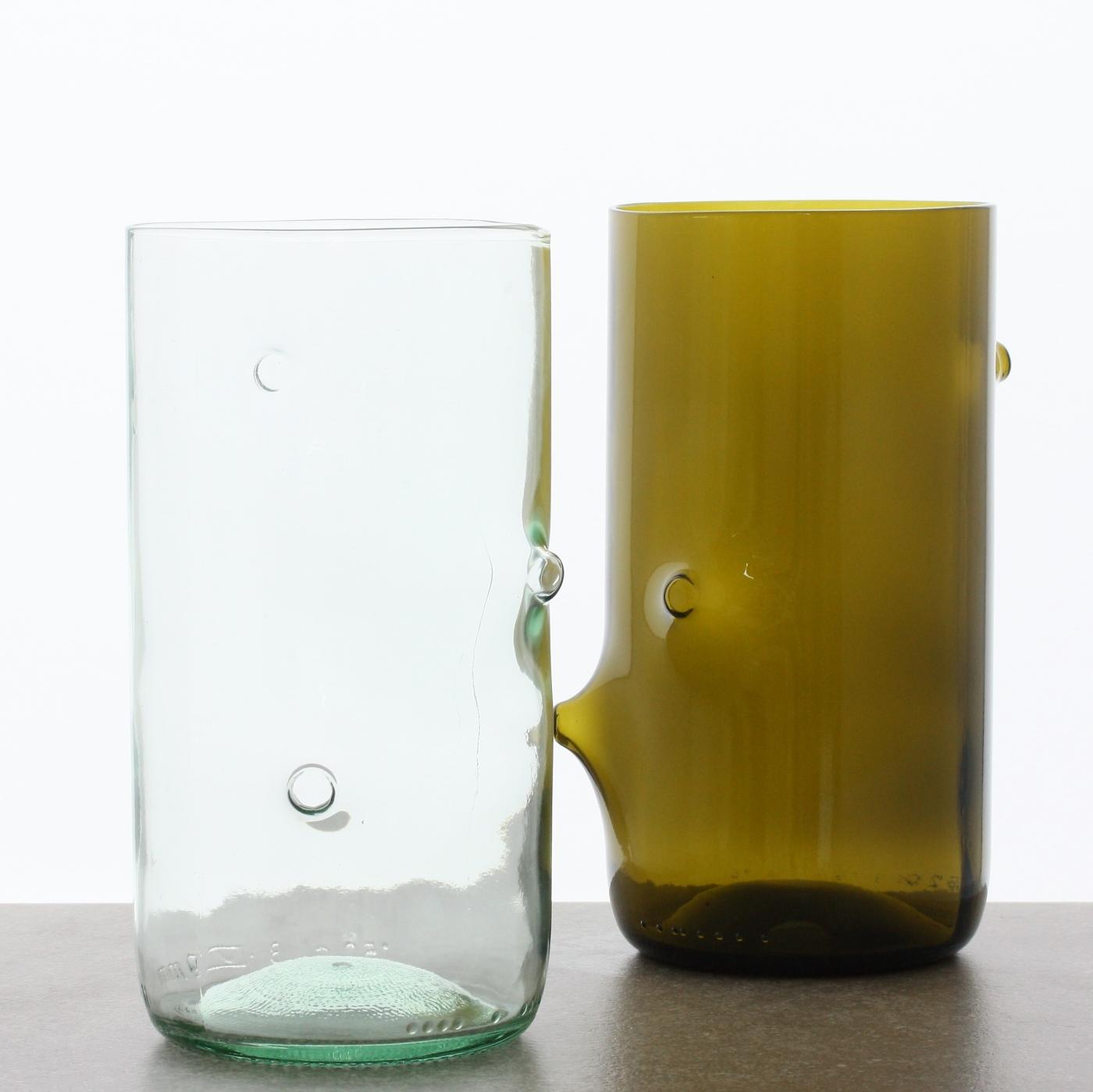 Jesper Jensen v återvunnet glas, stora.