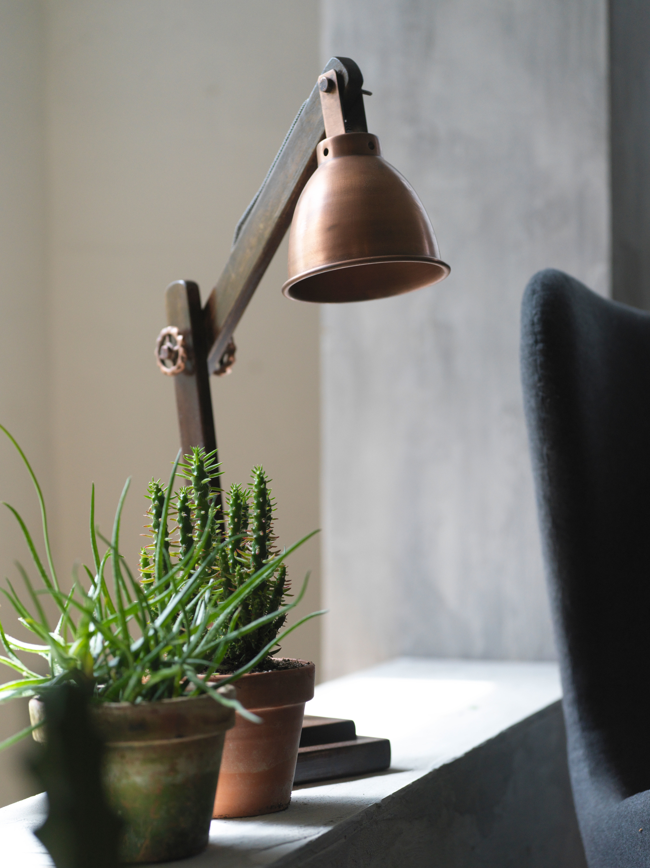 Fuhr Home bordslampa Madrid-copper