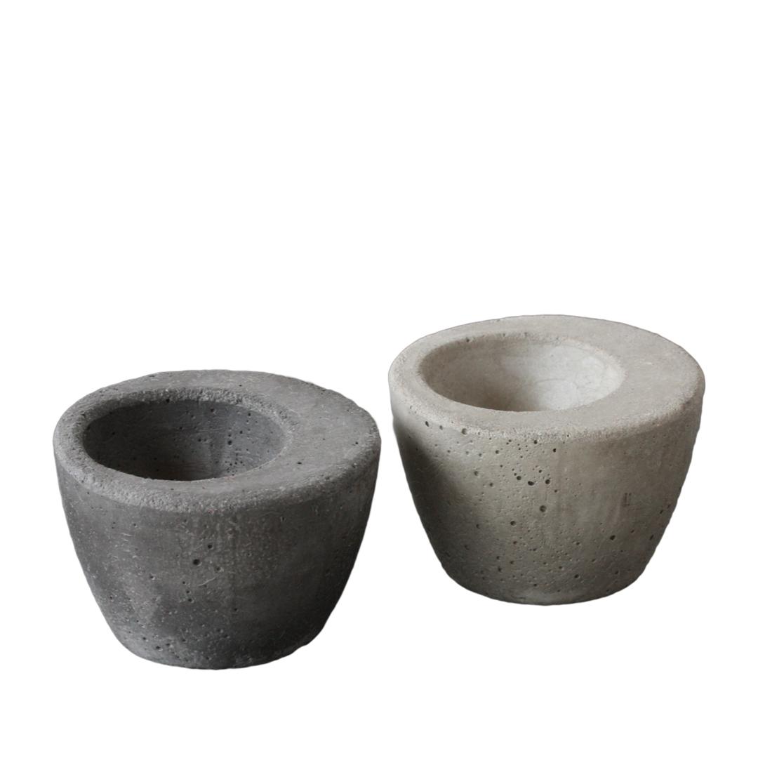 Äggkopp betong mörkgrå_ljusgrå