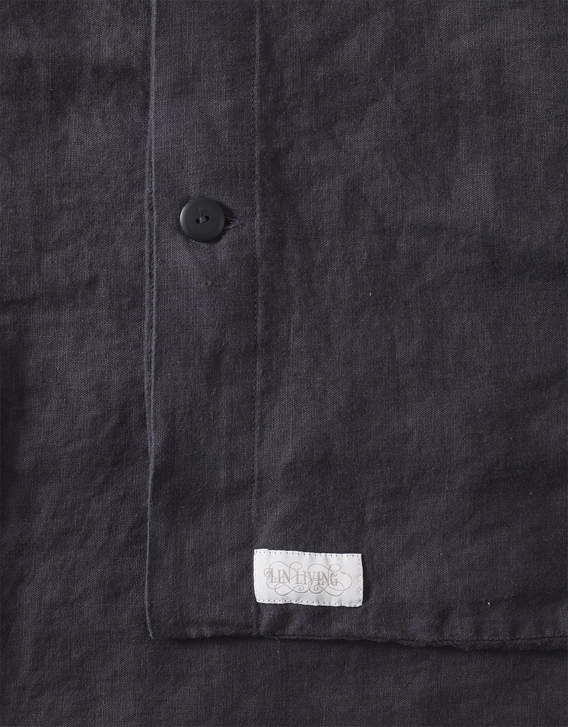 Ekologiskt linne. Påslakan Lin Living Granite