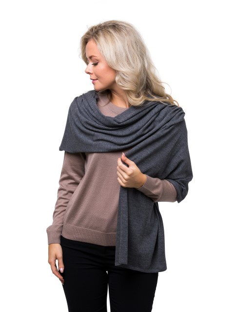 Summer scarf grey