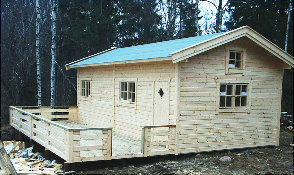 Fritidshus 32 kvm + loft