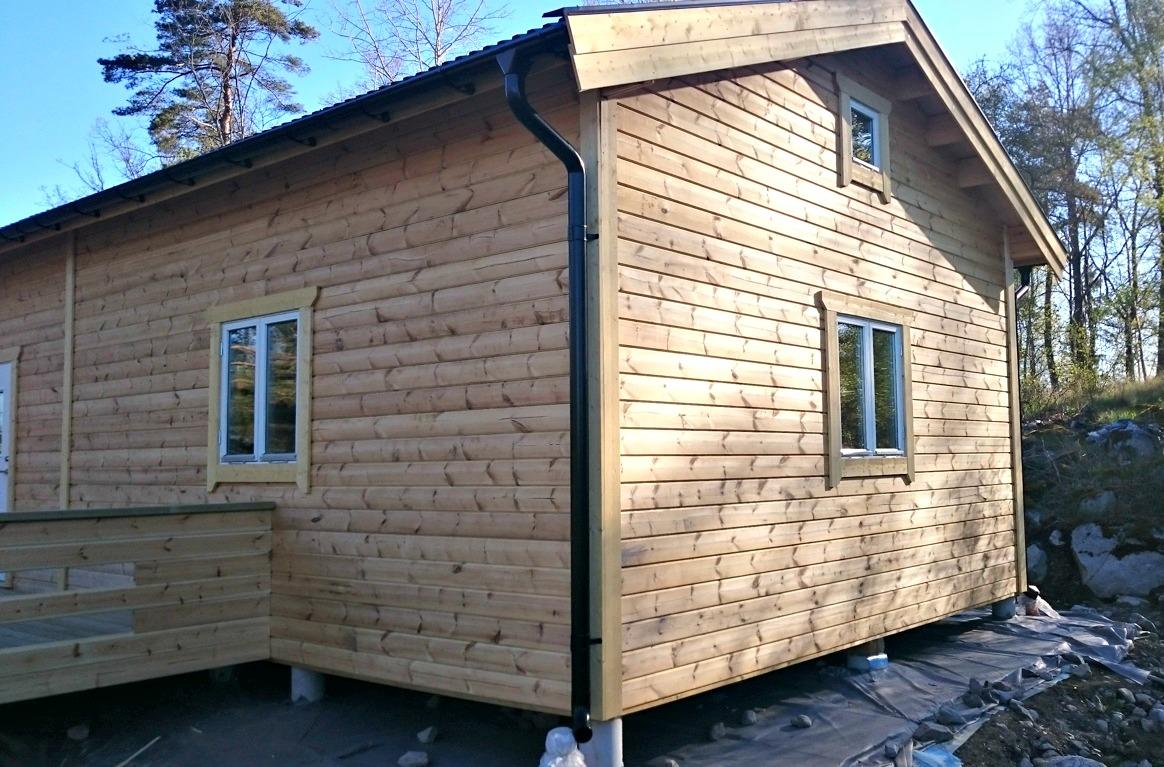 Fritidshus 60 kvm + loft