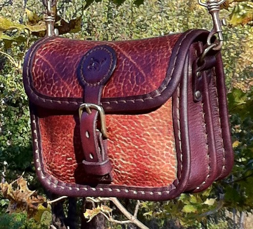 Handväska Storl.1 rödbrun-2