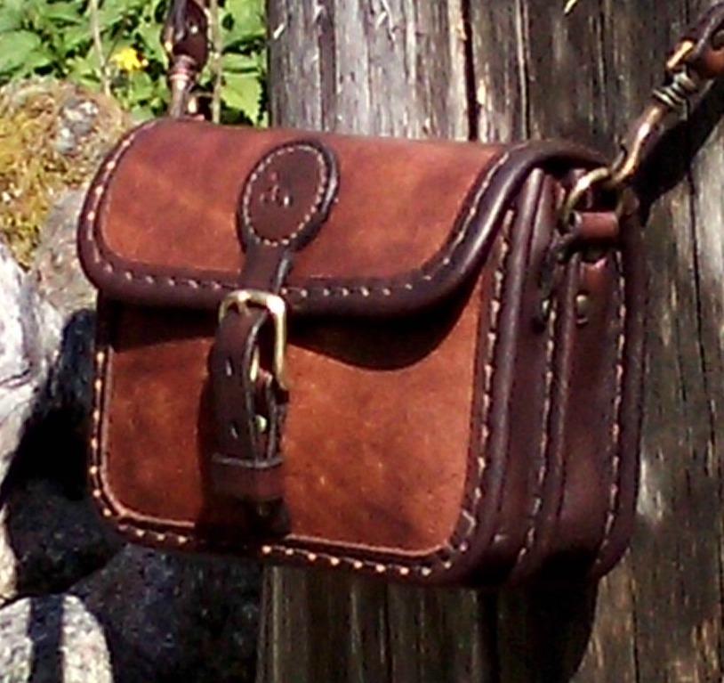 Handväska Storl.1 brun