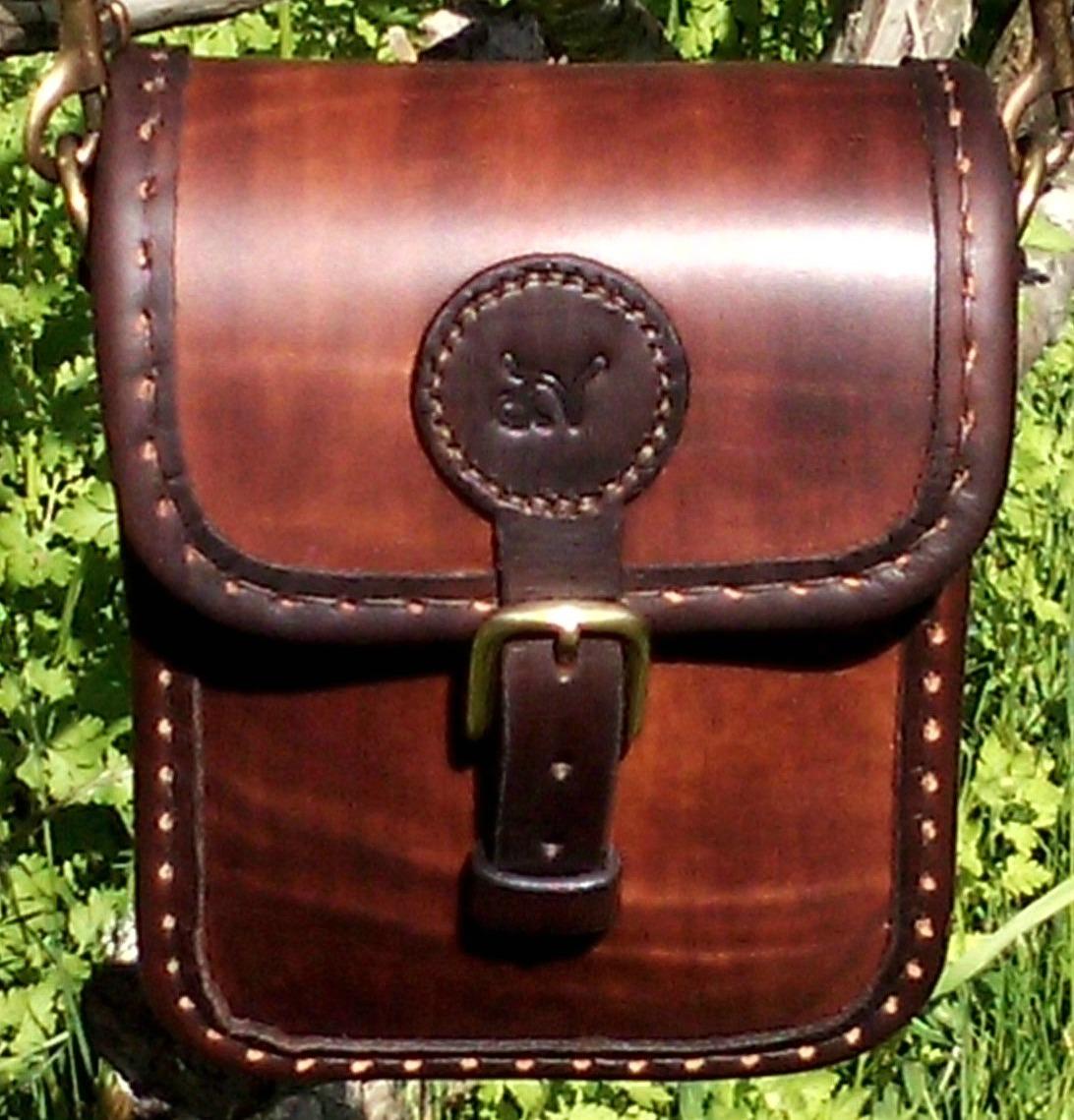 Handväska Storl.2 rödbrun-2