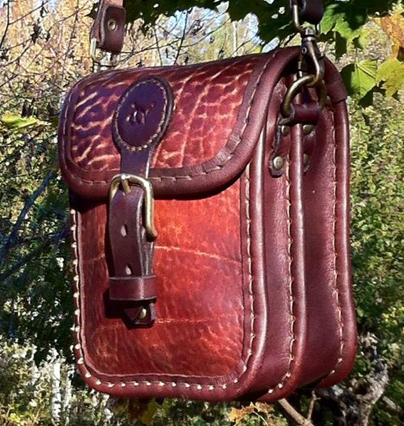 Handväska Storl.2 rödbrun-4