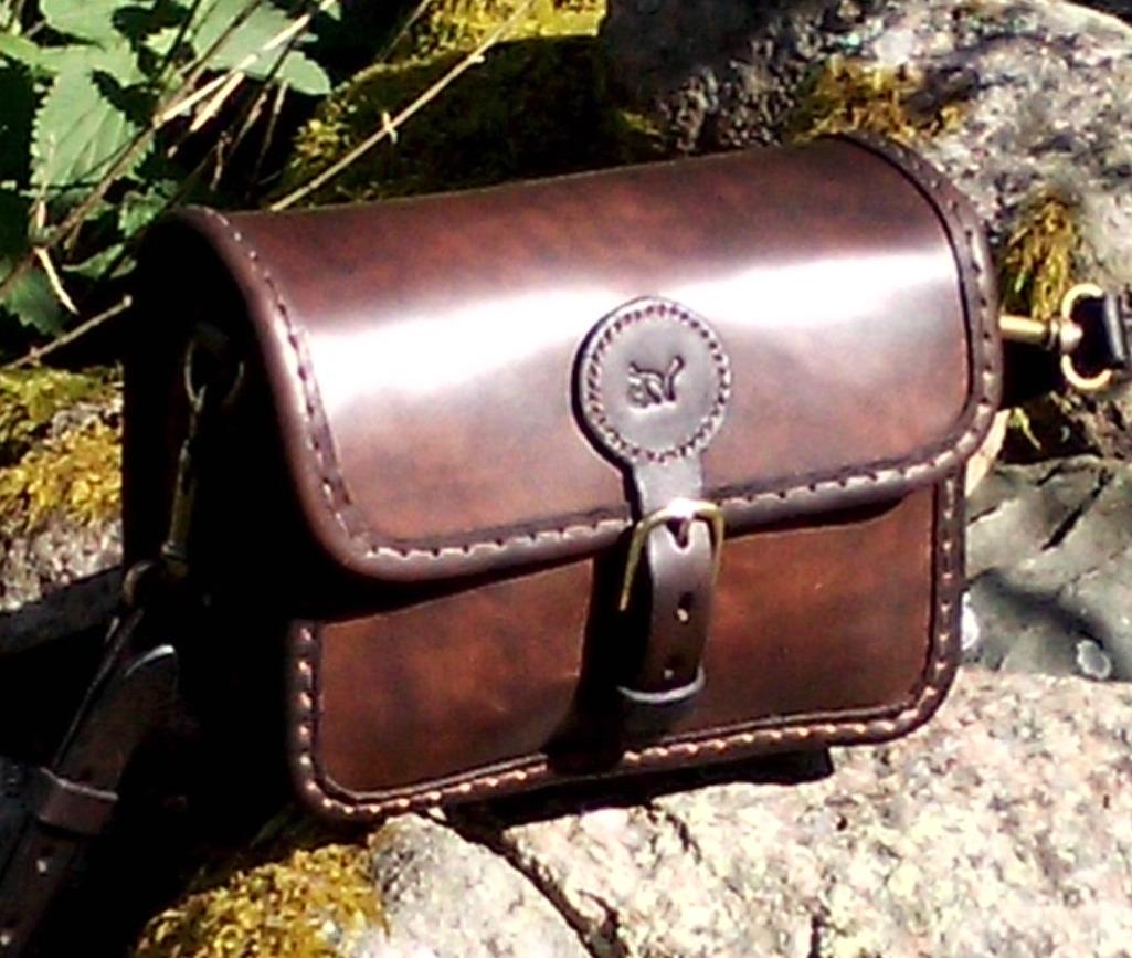 Handväska Storl.4 brun