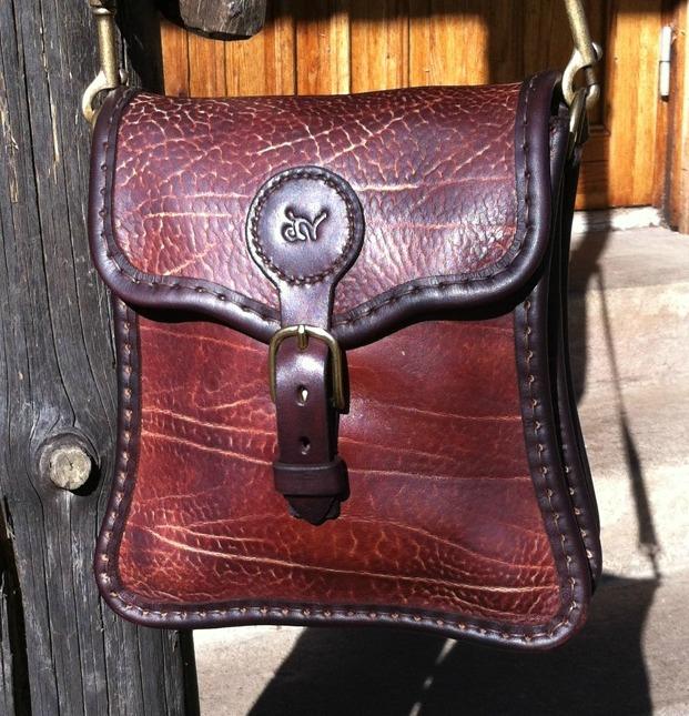 Handväska Storl.6 rödbrun-3