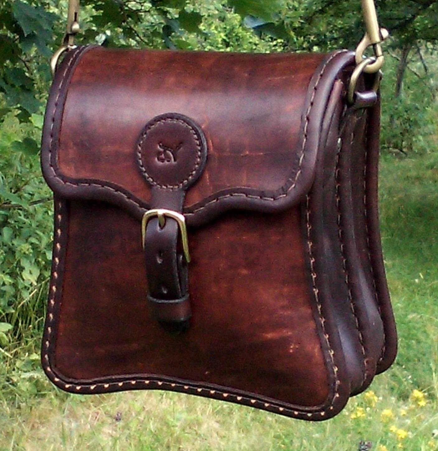 Handväska Storl.6 rödbrun-5