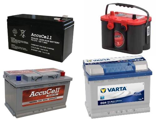 batterier samling