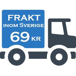 Frakt 69 kr inom Sverige