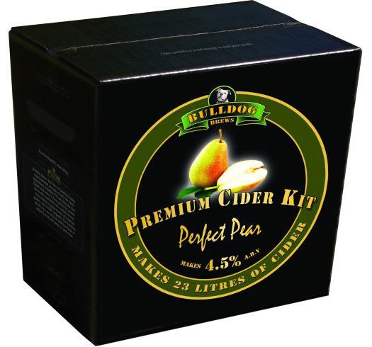 bulldog cider päron
