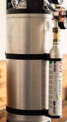 Hållare CO2 patron 2