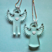 Halsband-änglar