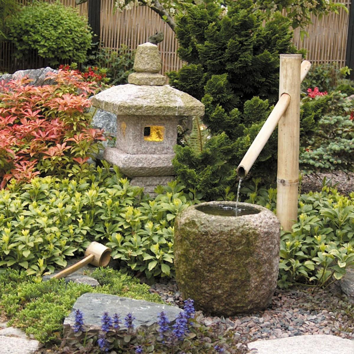 vatten dekoration trädgård