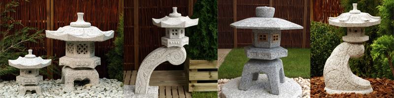 japanska hus, japanska stenhus, japanska tehus, lanternor