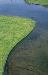 Ecolat kantband, ecopic, stabil dammkant, oase, bygga damm, dammbygge