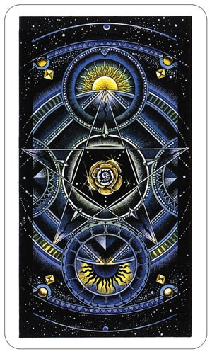 Cosmic Tarot backside