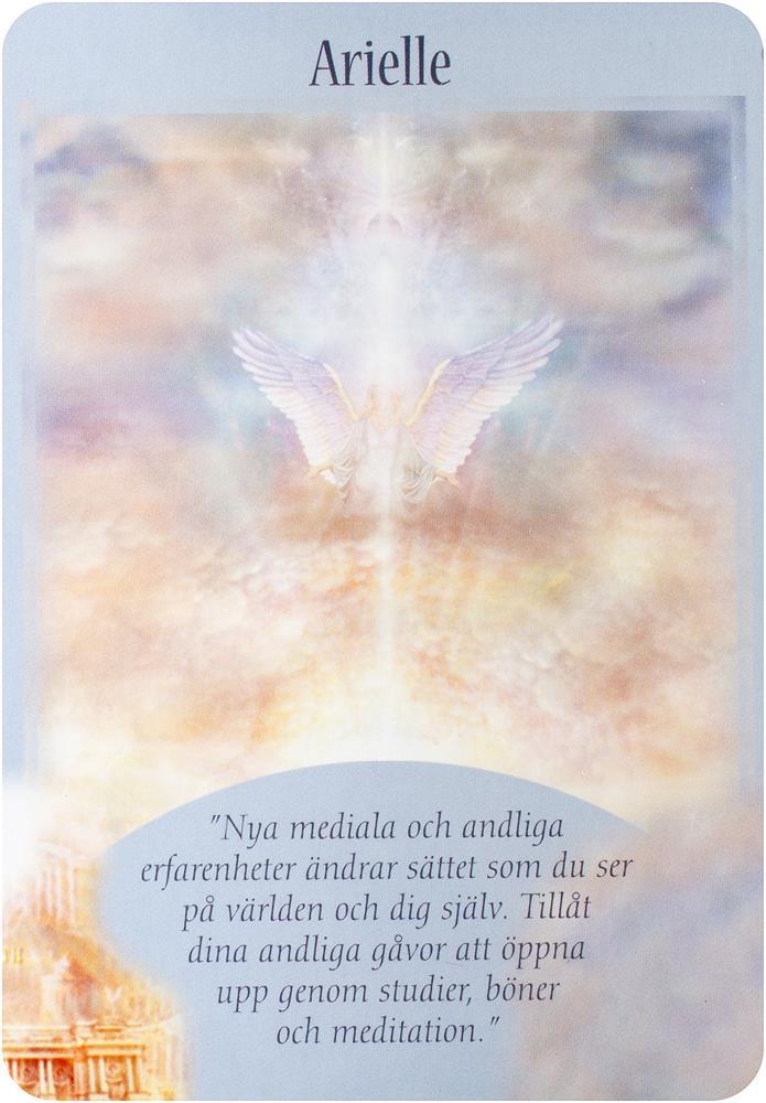 Budskap från dina änglar orakelkort 9789197938532