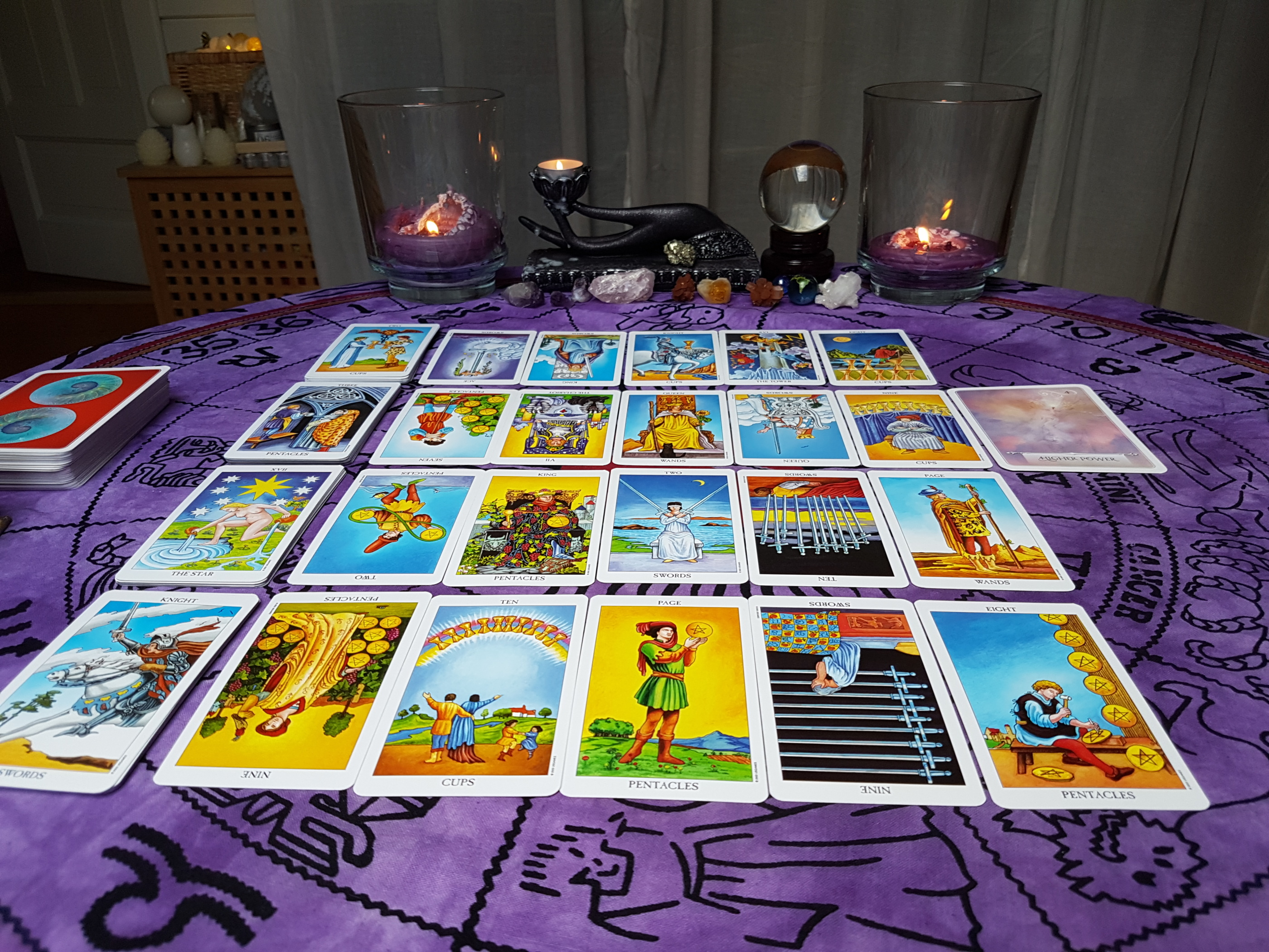 40 minute Tarot Reading, 1-2 situations/4 question - Pre