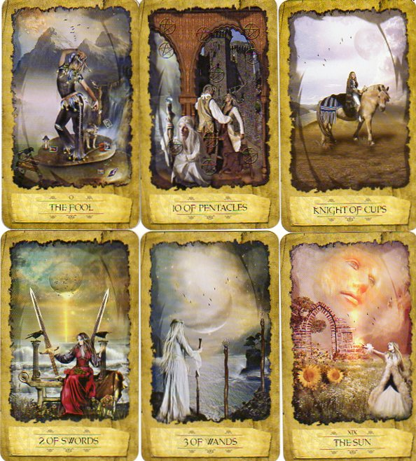 Mystic Dreamer Tarot 1
