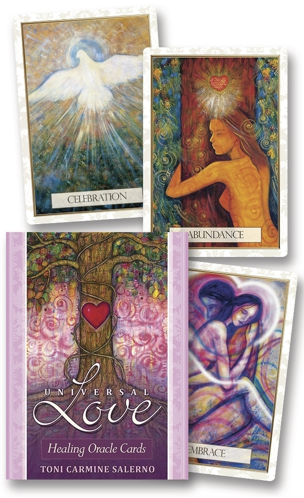 Universal Love Healing Oracle Cards 9780738742816