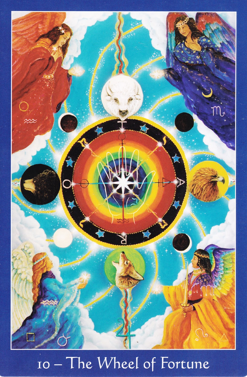 The Star Tarot 9780764352997-Wheel of Fortune