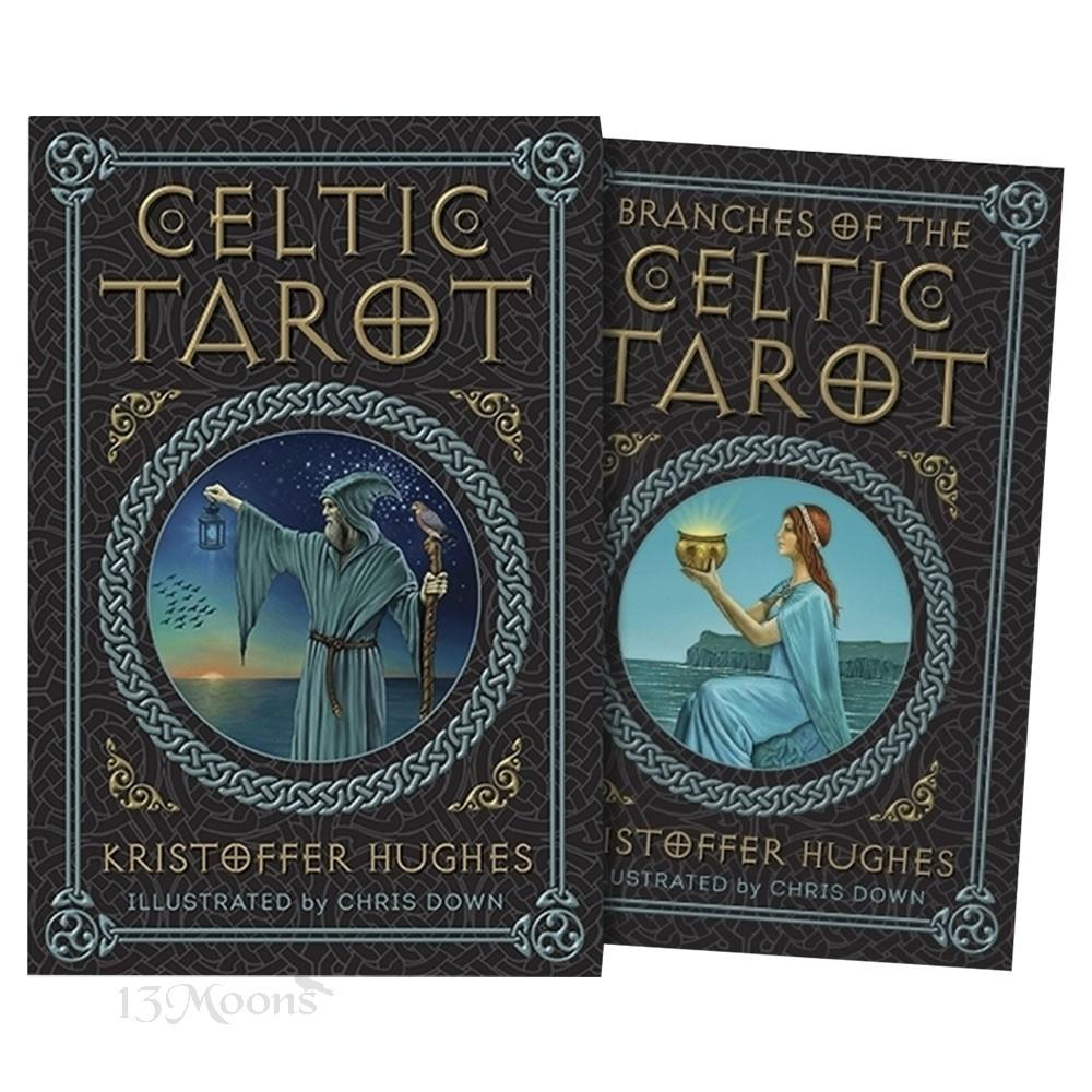 Celtic Tarot Kristoffer Hughes 9780738744766-front