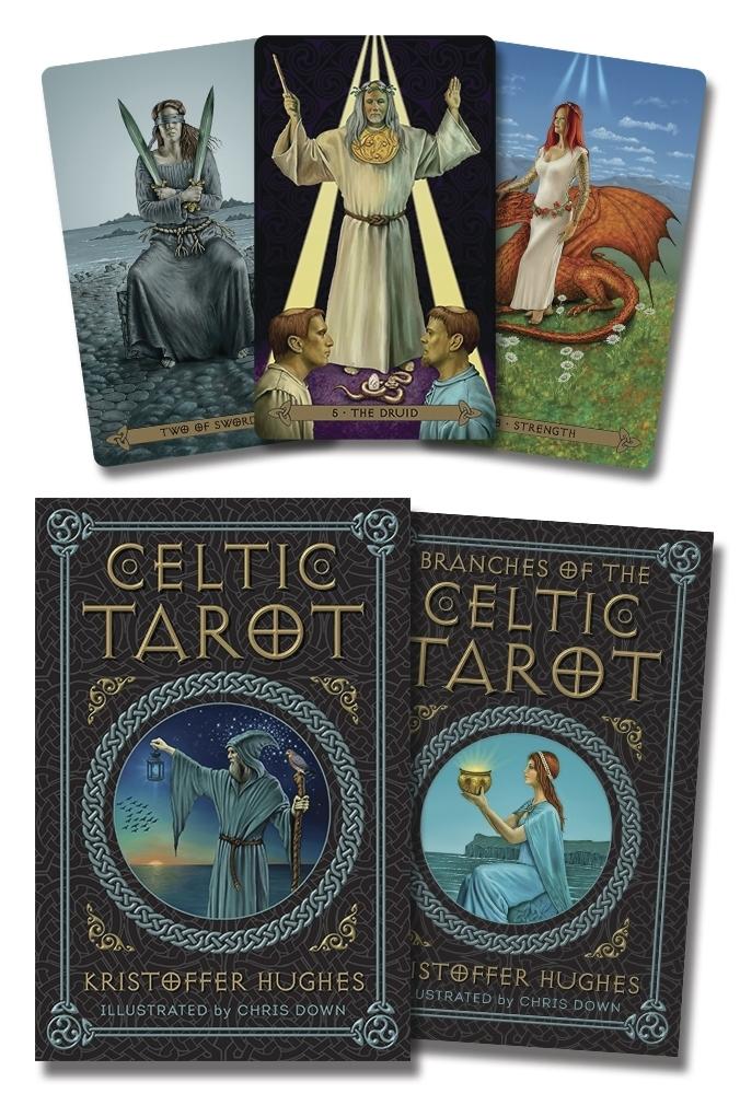 Celtic Tarot Kristoffer Hughes 9780738744766