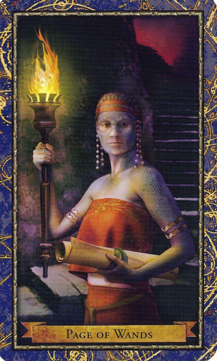 Wizards Tarot Corrine Kenner 9780738712857-8