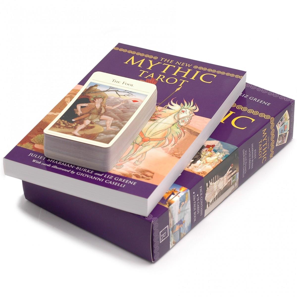 New Mythic Tarot 9781572817364 set1
