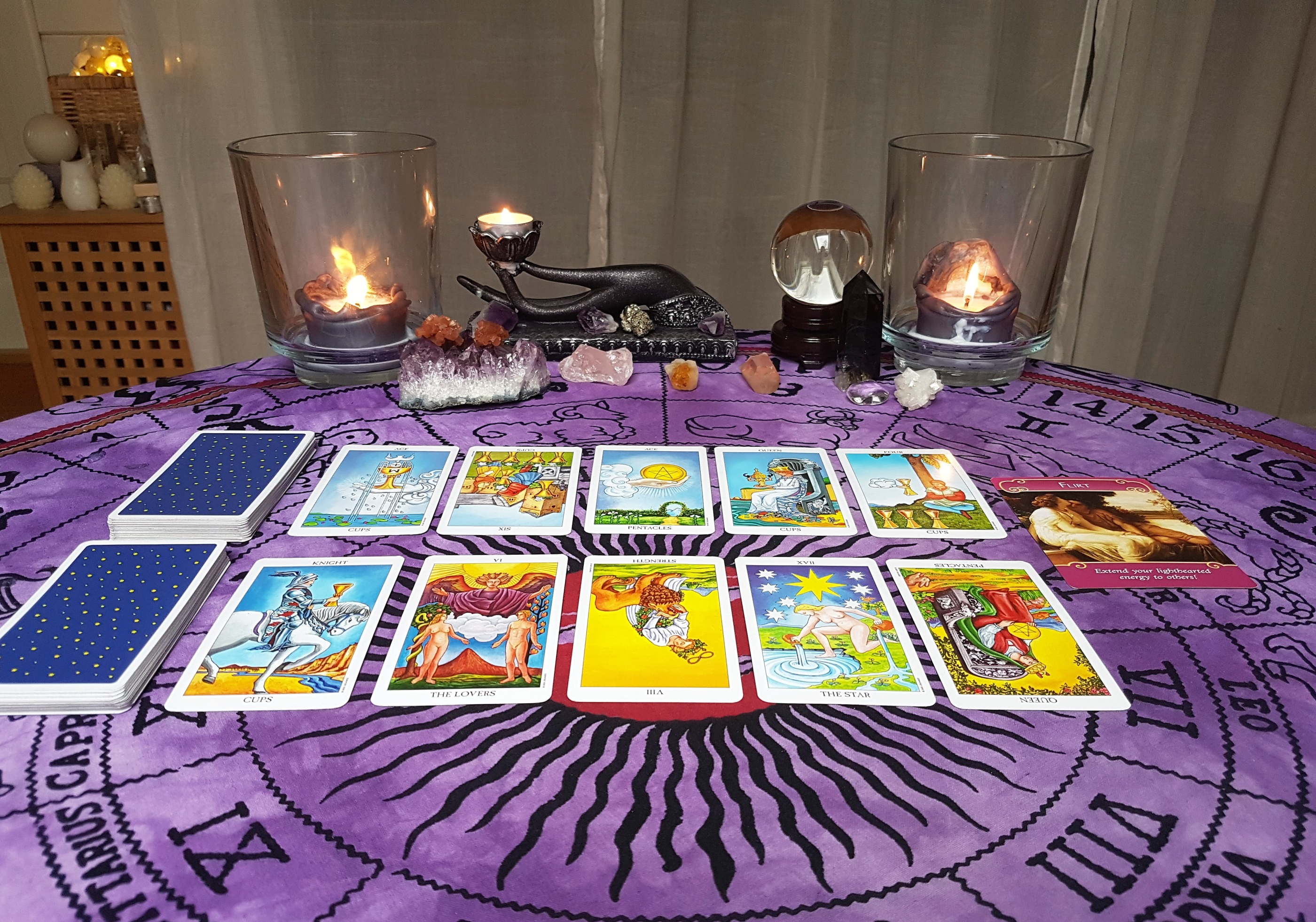 20 minute Tarot Reading, 1 situation/2 question - Pre